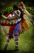 Powwow Posters - Womans Fancy Poster by Larysa Luciw