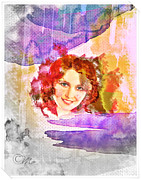 Happiness Digital Art Prints - Womans Soul Part 2 Print by Mo T