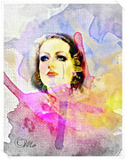 Emotions Digital Art Prints - Womans Soul Part 3 Print by Mo T