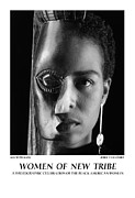 Photography Of Women Prints - Women Of A New Tribe - Kim With Mask Print by Jerry Taliaferro