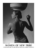 Photography Of Women Prints - Women Of A New Tribe - Veronica with Basket Print by Jerry Taliaferro