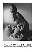Photography Of Women Prints - Women Of A New Tribe -Chastity with Child Print by Jerry Taliaferro