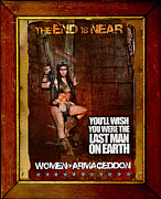 Apocalypse Originals - Women of Armageddon Vintage Movie Poster by Michael Zinn