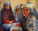 Afghanistan Paintings - Women of War by Donelli  DiMaria