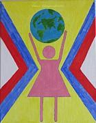 Women Rule The World Print by Sonali Gangane