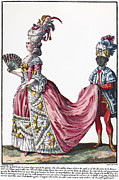 Servant Prints - Womens Fashion, 1778 Print by Granger