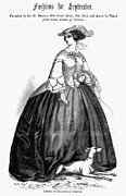 Whippet Framed Prints - Womens Fashion, 1857 Framed Print by Granger