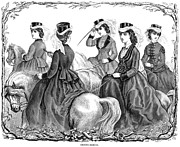 1870 Photos - Womens Fashion, 1870 by Granger