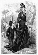 1876 Framed Prints - Womens Fashion, 1876 Framed Print by Granger