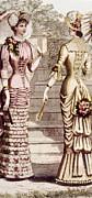 Womens Fashion, Circa 1880s Print by Everett