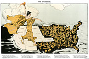 Suffragette Prints - Womens Suffrage, 1915 Print by Granger