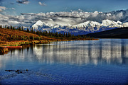 Denali Prints - Wonder Lake III Print by Rick Berk