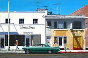 Transport Paintings - Wonder Shops by Michael Ward