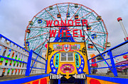 Bklyn Prints - Wonder Wheel Print by Mark Gilman