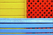 Buenos Aires Photos - Wood And Colors by by Felicitas Molina