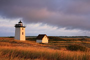 Wood End Lighthouse Landscape Print by Roupen  Baker