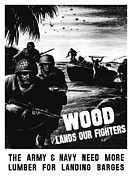 Featured Art - Wood Lands Our Fighters by War Is Hell Store