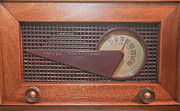 Nostalgia Photos - Wood Radio by Matthew Bamberg