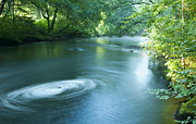 Nikon D90 Prints - Wood River Whirlpool Print by Steven Natanson