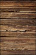 Wood Planks Metal Prints - Wood Texture Metal Print by Kelley King