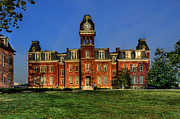 Woodburn Hall In Morning Print by Dan Friend