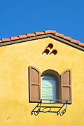 Roof Acrylic Prints - Woodbury Windows No 1 by Ben and Raisa Gertsberg
