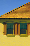 Roof Acrylic Prints - Woodbury Windows No 2 by Ben and Raisa Gertsberg