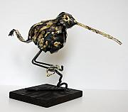 Animal Sculpture Originals - Woodcock by Buzz Leighton