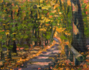 Jane  Simonson - Wooded Trail