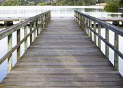 Wooden Dock Prints - Wooden Dock Print by Andersen Ross