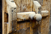 Hand Made Art - Wooden door bolt detail by Kantilal Patel