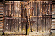 Shed Photo Posters - Wooden Door Poster by Tom Gowanlock