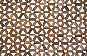 Surface Design Prints - Wooden Pattern Print by Blink Images