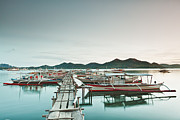 Filipino Prints - Wooden pier Print by MotHaiBaPhoto Prints
