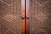 Moroccan Photos - Wooden wardroabe by Tom Gowanlock