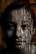 Youthful Painting Metal Prints - Woodland Spirit Metal Print by Christopher Gaston
