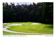 5th Hole Framed Prints - Woodlawn Hole 5 Framed Print by Enrico Luciano