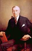 Woodrow Wilson 1856-1924, U.s Print by Everett