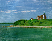 Bob Senesac - Woods Hole Lighthouse