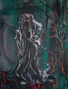 Creepy Pastels Originals - Woodsend by Jhan Hunter