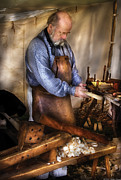 Miksavad Photos - Woodworker - The Carpenter by Mike Savad