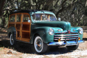 Classic Cars Originals - Woody Classic Cars by Joseph G Holland