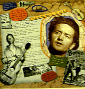 Woody Guthrie Art - Woody Guthrie Collage by Mari Bailey