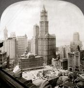 Woolworth Building, 1920s Print by Granger