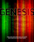 Jim Lepage Prints - Word Genesis 2 Print by Jim LePage