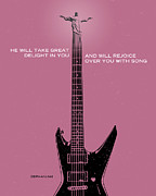 Minor Prophet Posters - Word Zephaniah Jackson Poster by Jim LePage