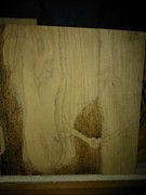 Wood Burn Pyrography Prints - Work In Progress Encore 1 Print by Cheret Adar