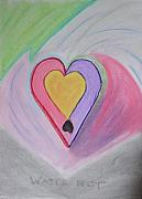 Conceptual Pastels - Work of Heart by Laura Jordan
