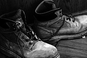 Jeremy Linot Art - Workboots by Jeremy Linot