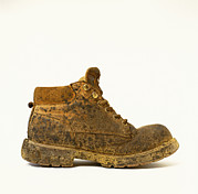 Unhygienic Prints - Workers Boot Print by Kevin Curtis